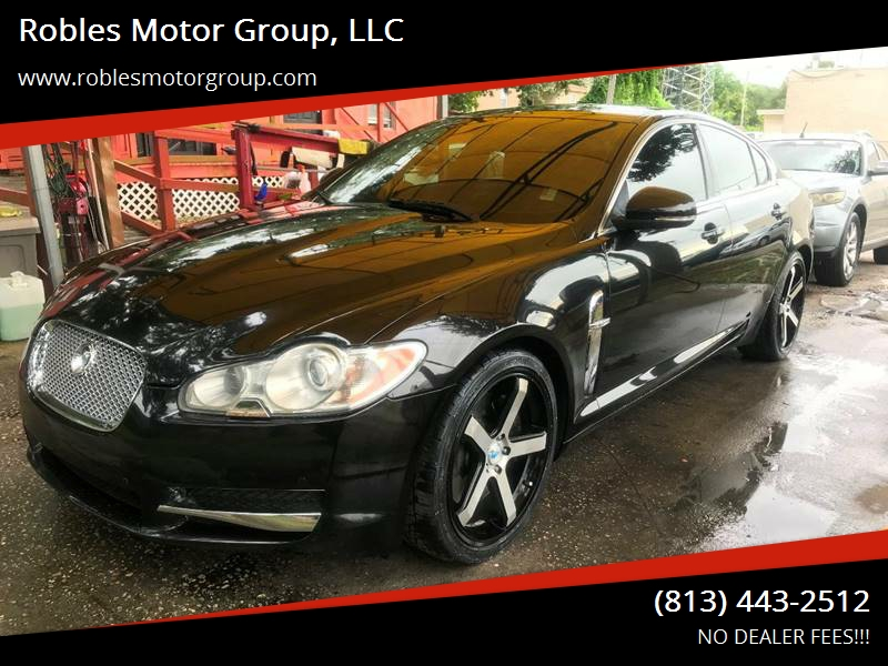 2010 Jaguar XF For Sale At Robles Motor Group, LLC In Tampa FL