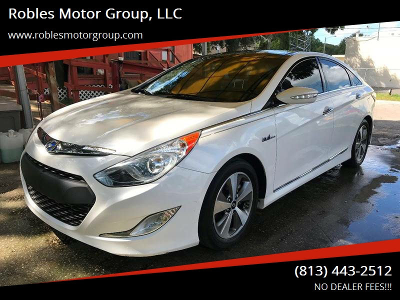 2012 Hyundai Sonata Hybrid For Sale At Robles Motor Group, LLC In Tampa FL