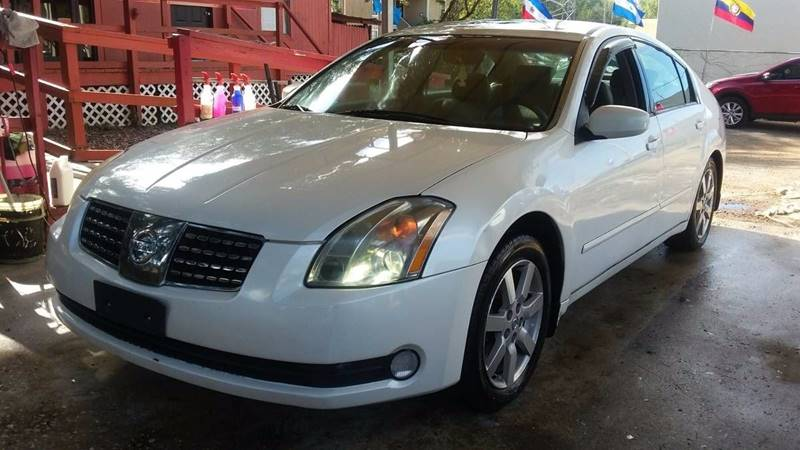 2004 Nissan Maxima 35 Sl In Tampa Fl Robles Motor Group Llc