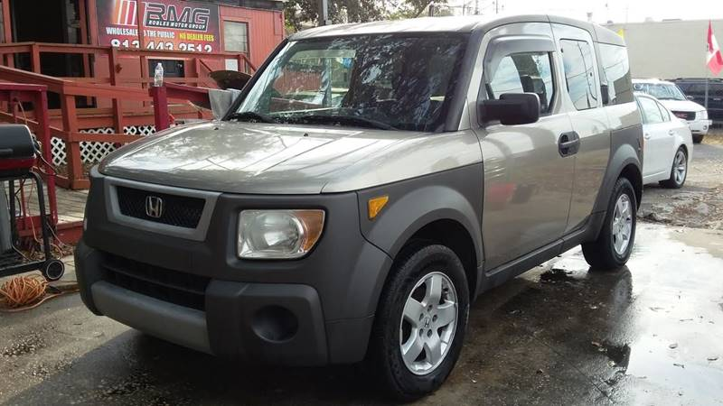 2004 Honda Element For Sale At Robles Motor Group, LLC In Tampa FL