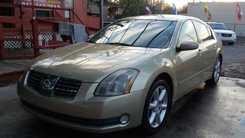 2004 Nissan Maxima 35 Se In Tampa Fl Robles Motor Group Llc