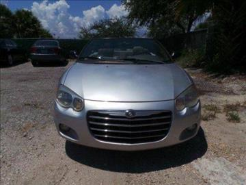 2005 Chrysler Sebring for sale in West Palm Beach FL