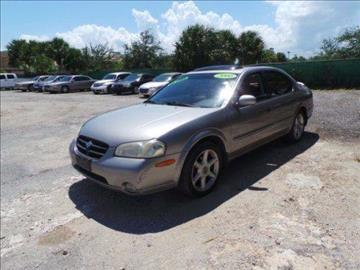 2000 Nissan Maxima for sale in West Palm Beach FL