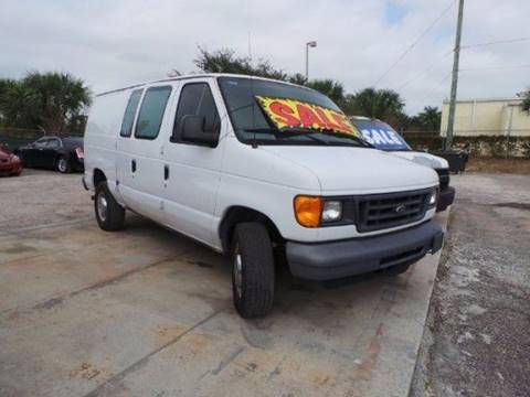 2006 Ford E-Series Cargo for sale in West Palm Beach FL