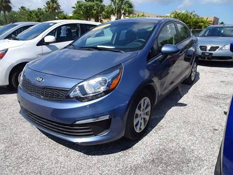 2016 Kia Rio for sale in West Palm Beach FL