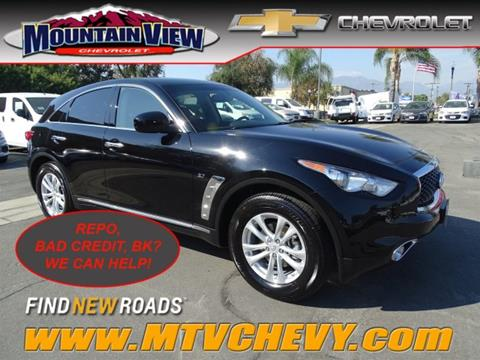 2017 Infiniti QX70 for sale in Upland, CA