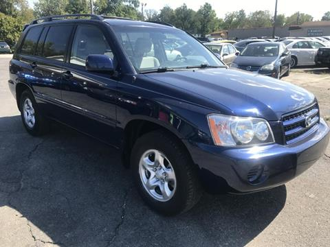 2003 Toyota Highlander for sale in Indianapolis, IN