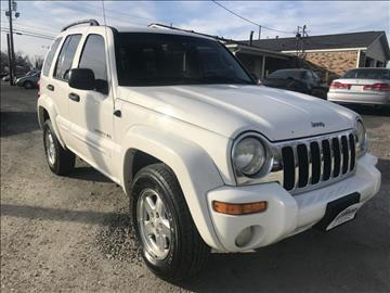 2002 Jeep Liberty for sale in Indianapolis, IN