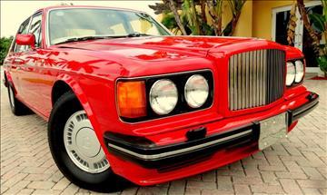 1989 Bentley Turbo R for sale in Boca Raton, FL