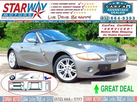2004 BMW Z4 for sale in Houston, TX