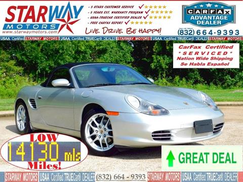 2004 Porsche Boxster for sale in Houston, TX