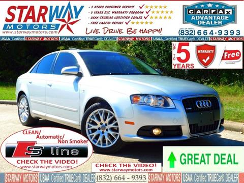2008 Audi A4 for sale in Houston, TX