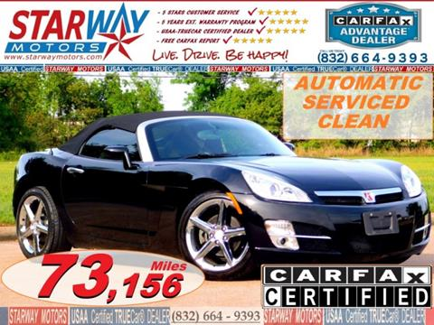 2007 Saturn SKY for sale in Houston, TX