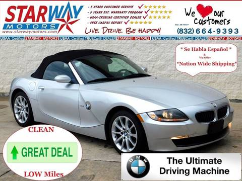 2006 BMW Z4 for sale in Houston, TX