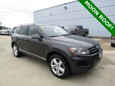 2013 Volkswagen Touareg for sale in Cedar Falls, IA