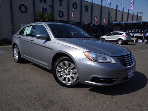 2014 Chrysler 200 for sale in Los Banos CA