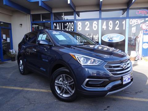 2017 Hyundai Santa Fe Sport for sale in Los Banos, CA