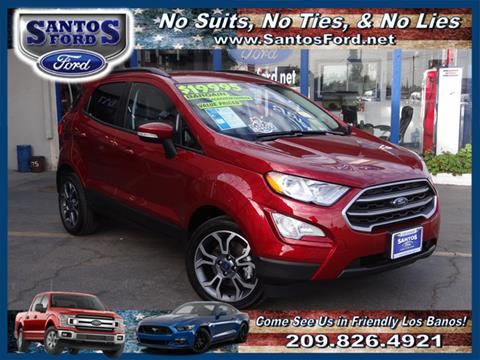 2018 Ford EcoSport for sale in Los Banos, CA