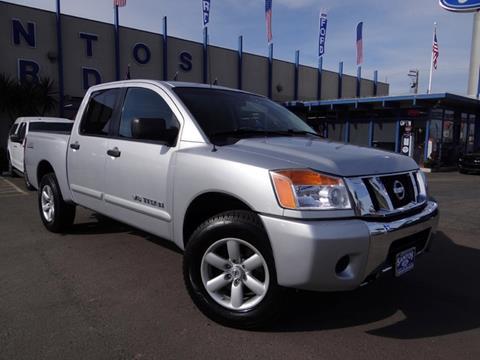 2010 Nissan Titan for sale in Los Banos, CA