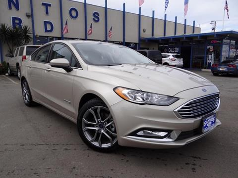 2017 Ford Fusion Hybrid for sale in Los Banos CA