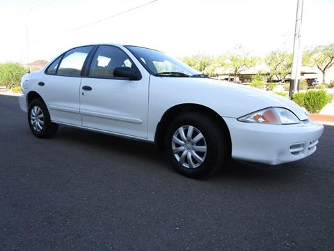 2002 Chevrolet Cavalier for sale in Phoenix, AZ