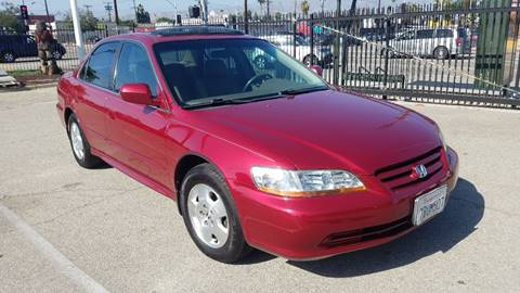 2002 Honda Accord for sale in North Hollywood, CA