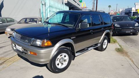 1998 Mitsubishi Montero Sport for sale in North Hollywood, CA