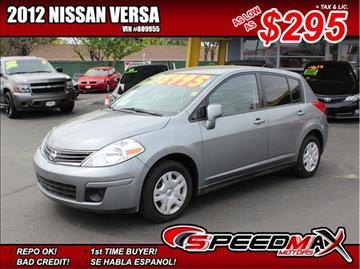 2012 Nissan Versa for sale in Fresno, CA