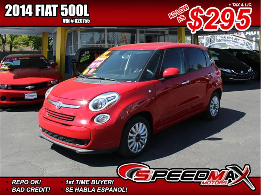 2014 fiat 500l easy 4dr hatchback in fresno ca speedmax. Black Bedroom Furniture Sets. Home Design Ideas