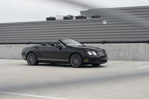 2010 Bentley Continental GTC Speed for sale in Indianapolis, IN