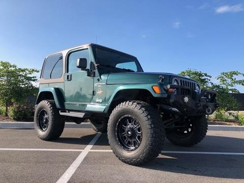 2001 Jeep Wrangler for sale in Indianapolis, IN