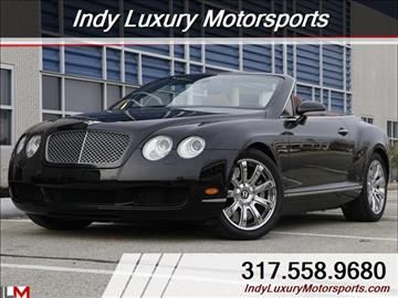 2008 Bentley Continental GTC for sale in Indianapolis, IN