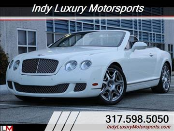 2010 Bentley Continental GTC for sale in Indianapolis, IN