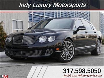 2012 Bentley Continental Flying Spur Speed for sale in Indianapolis, IN