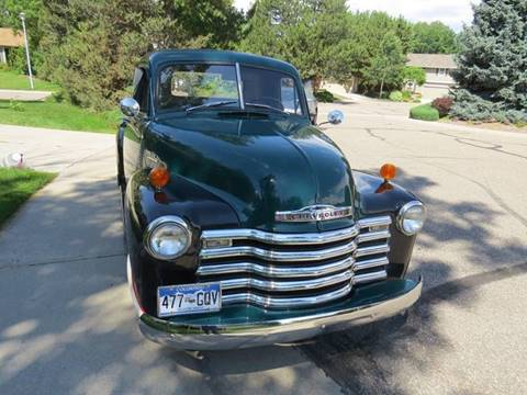 1953 Chevrolet 3100 for sale at Muscle Cars USA 1 in Bronx NY