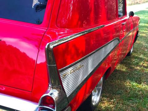 1957 Chevrolet Bel Air for sale at Muscle Cars USA 1 in Murrells Inlet SC
