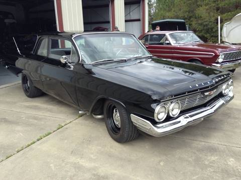 1961 Chevrolet Biscayne for sale at Muscle Cars USA 1 in Bronx NY