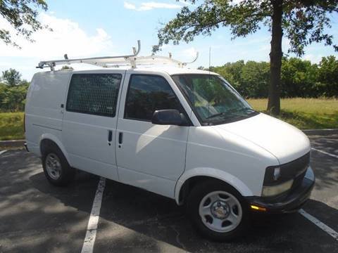 2003 Chevrolet Astro Cargo for sale at GLADSTONE AUTO SALES in Kansas City MO