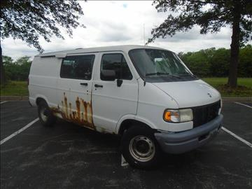 1997 Dodge Ram Van for sale at GLADSTONE AUTO SALES in Kansas City MO