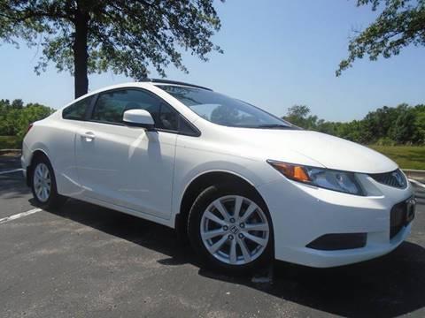 2012 Honda Civic for sale at GLADSTONE AUTO SALES in Kansas City MO