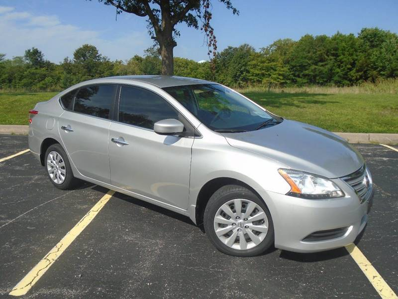 2014 Nissan Sentra for sale at GLADSTONE AUTO SALES in Kansas City MO