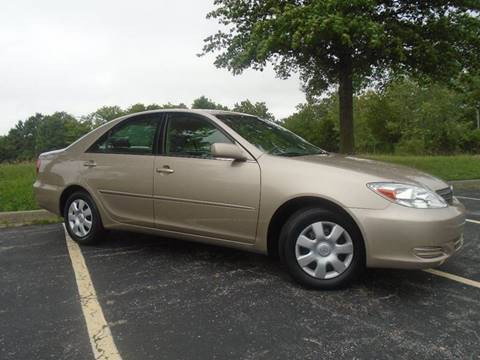 2003 Toyota Camry for sale at GLADSTONE AUTO SALES    GUARANTEED CREDIT APPROVAL in Gladstone MO