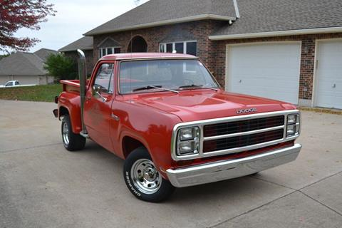 1979 Dodge Lil Red Truck for sale at GLADSTONE AUTO SALES    GUARANTEED CREDIT APPROVAL in Gladstone MO