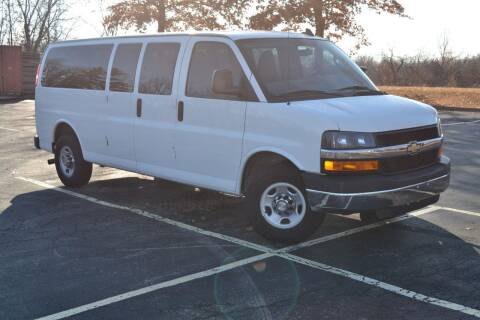 2016 Chevrolet Express Passenger for sale at GLADSTONE AUTO SALES    GUARANTEED CREDIT APPROVAL in Gladstone MO