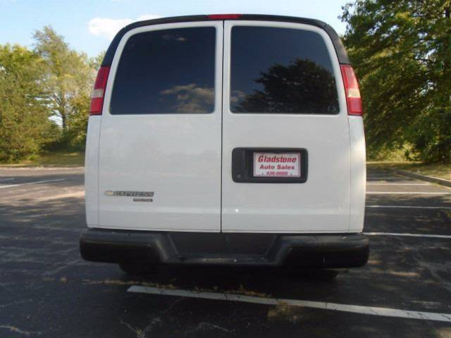 2011 Chevrolet Express Cargo for sale at GLADSTONE AUTO SALES in Kansas City MO