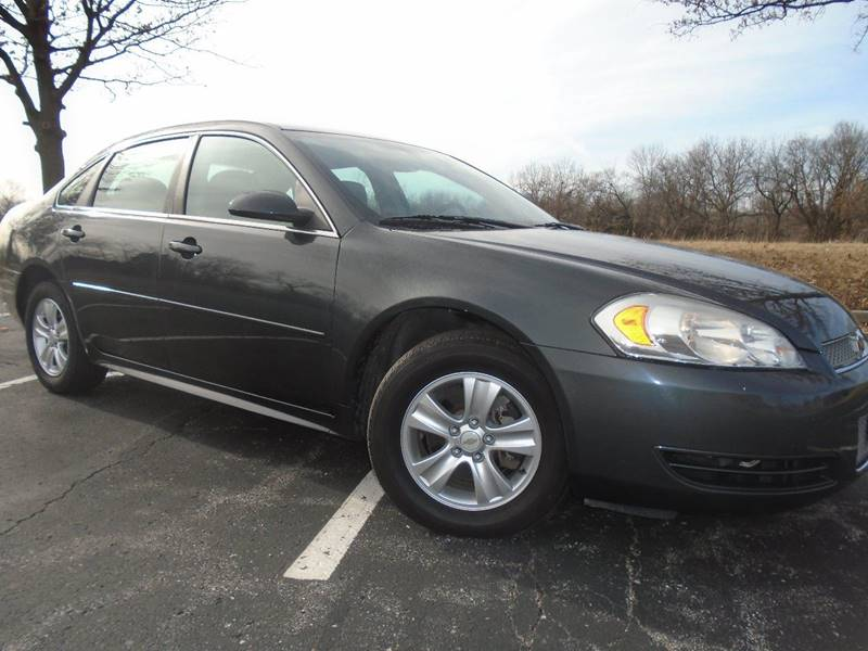 2012 Chevrolet Impala for sale at GLADSTONE AUTO SALES in Kansas City MO