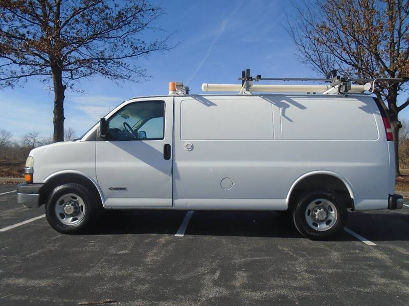 2004 Chevrolet Express Cargo for sale at GLADSTONE AUTO SALES in Kansas City MO