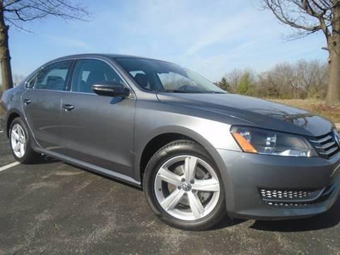 2012 Volkswagen Passat for sale at GLADSTONE AUTO SALES in Kansas City MO