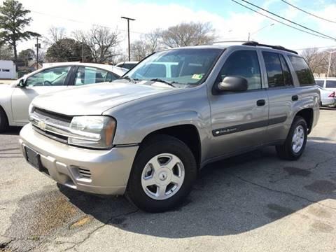 Chevrolet Trailblazer For Sale In Newport News Va Midtown Motors