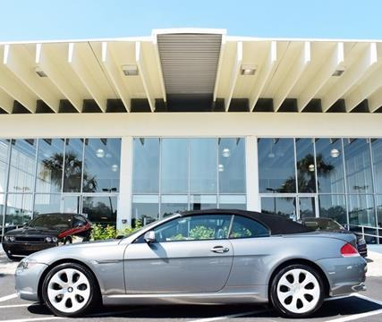 2005 BMW 6 Series for sale in Tampa, FL